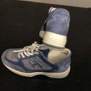 Boys hogan suede running shoes